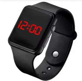 Best Quality Square Digital Silicone Sports Watch For Men & Women.
