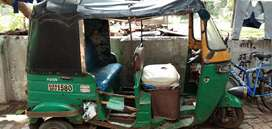 The rickshaw is for sale