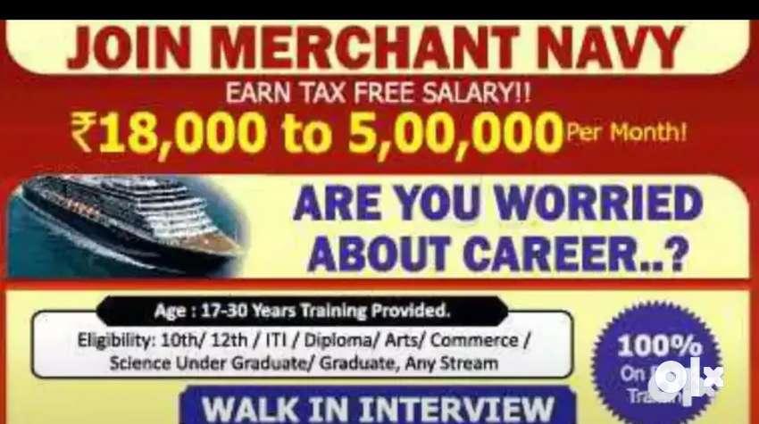 Job in merchant Navy 0