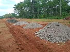 Tanah kapling murah jalan aspal siap bangun