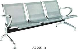 3 seater waiting area Chairs