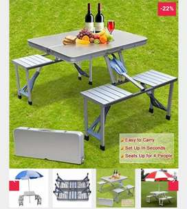Foldable Table Chairs
