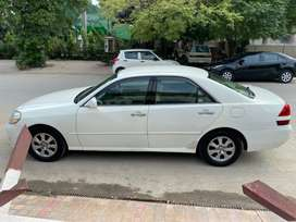 Toyota Mark-II, Model 2002,Registered in 2008,2491 CC, imported, Whit