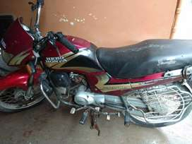 Bike is in good condition,no need of any expenses required.
