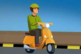 Urgently wanted bike taxi driver in anantapur