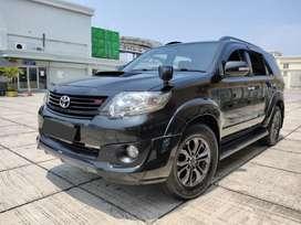 Toyota Fortuner Vnt Turbo TRD 2014 Manual BERGARANSI Cash or Kredit