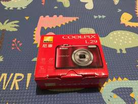 Dijual Kamera Digital Nikon Coolpix L29 Murah Seperti Baru