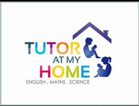 Home tutor. From 1 to 7th class