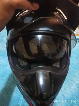 Helm Mds full face supermoto
