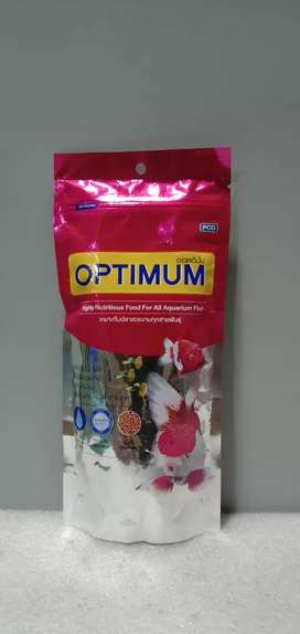 Optimum Highly Nutritious Fish Food Mini Pellet 100gm