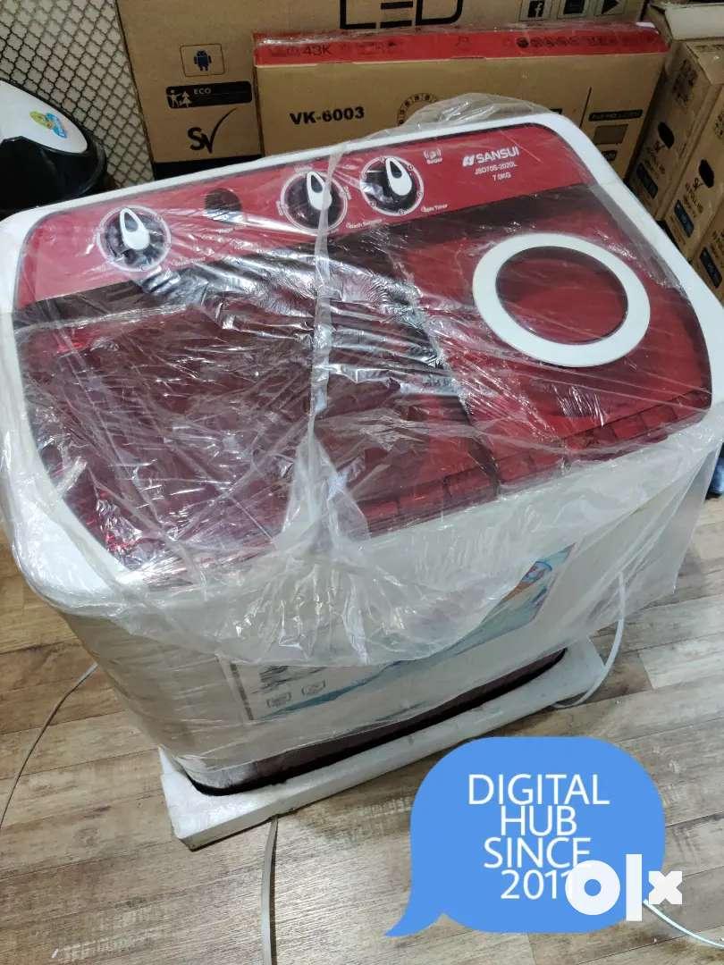 Washing machine brand new 5 year warranty 7 kg@7999