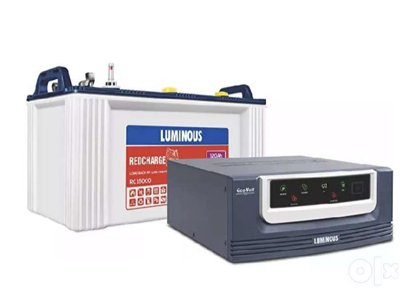 Luminous Tubular Battery & Invertor with 36 months warranty