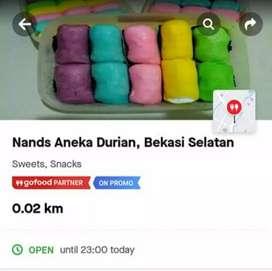 Aneka durian & Frozen food