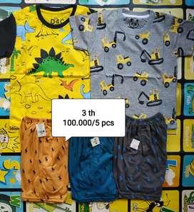 Paket baju anak cwo