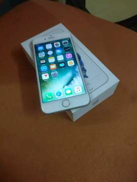 Iphone 6s 64gb silver 4g volte with box and charger available
