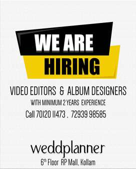 Wanted Video Editors & Designers