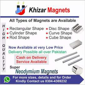Every type of Neodymium Magnets in Pakistan at very low price