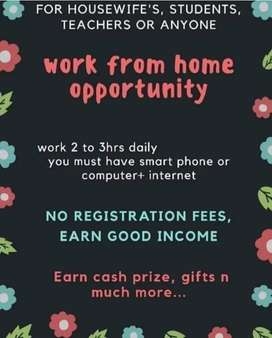 Work from opportunity for women