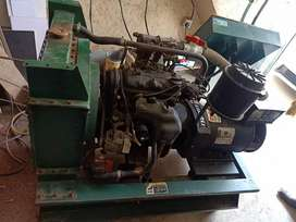 Heavy Generator Gas and petrol both new condition with battery