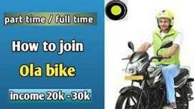 Attach your Bike in Ola