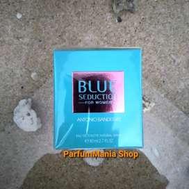 COD. Parfum Wanita Original Antonio Banderas Blue Seduction 80ml EDT