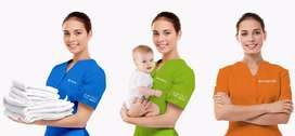 urgently requirement female Work like House maids, Baby sitter, Nanny.