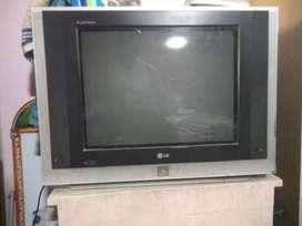 "LG - Faltron - 21"" TV with Sound Boofers"
