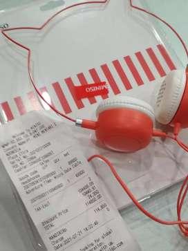 Headset baru miniso