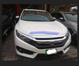 Honda Civic 2017 available on easy instalment low markup rate