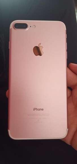 Iphone 7 plus 128gb rose gold tiptop condition fix rate