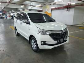 TOYOTA AVANZA G AT MATIC 2017 PUTIH
