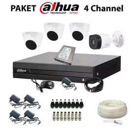 Paket kamera Cctv lengkap dengan pemasangan area Cikakak Sukabumi