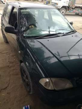 Suzuki Cultus, model 2001, fuel petrol but CNG is available.