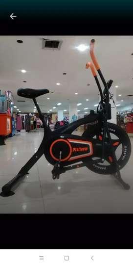 Alat Fitnes Home // Sepeda Setatis Dinamis Platinum Bike // Cod Bisa
