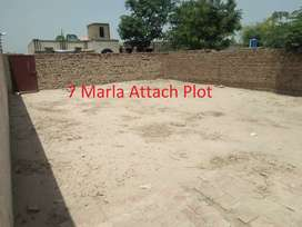 7 Marla Plot with Boundary wall for sale in Jamman Shah