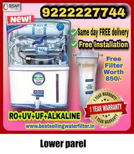 New  RO Water Filter service :Lower Parel, Dadar, Prabhadevi, Mahim, K