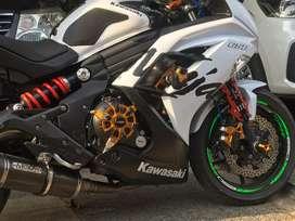 Ninja 650  / ER6f  PUTIH ,moge murah tangerang