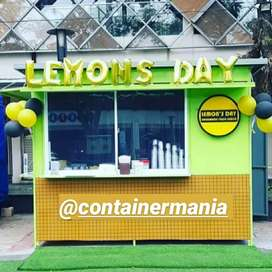 Semi Booth Container, Stand Booth, Indoor dan Outdoor, Custom Booth