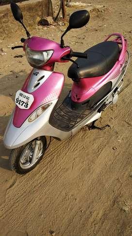 Good Condition TVS Scooty PepPlus with Warranty |  9173 Pune