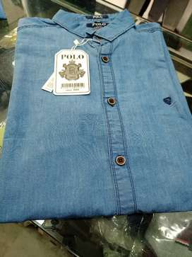 Jeans casual shirt