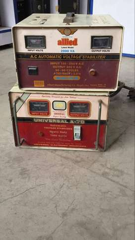 USED AC AND DEEP FREEZER STABILIZER