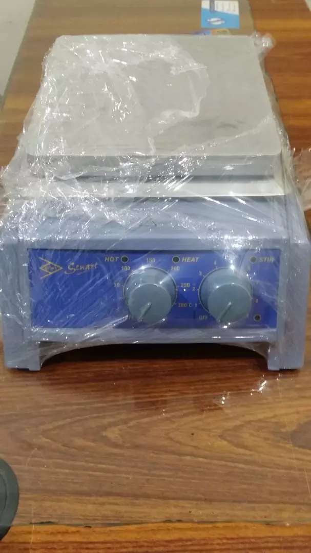 Hot plate with magnetic stirrer 0