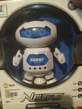 mainan robot lucu danca
