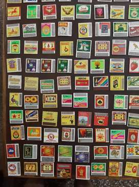 150 different Matches label cover collection sale  only rupee 499