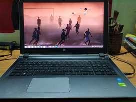 HP pavilion laptop Intel core i5 processor and Nvidia GeForce,8gb RAM