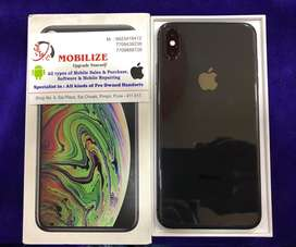 iPhone XS Max 256GB (Dual SIM) With 1 Year Warranty Till Sep - 2020.