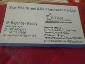 Star health insurance agents