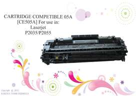 cartrisge compatible 05A FOR USE IN LASERJET P20 Berkualitasss bagusss