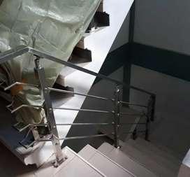 Reling tangga stenlis dan balkon #4671