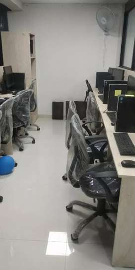 18 seater furnished office for rent in Baner nr. Audi Showroom